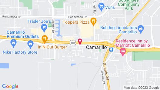 Bella Capri Inn Map