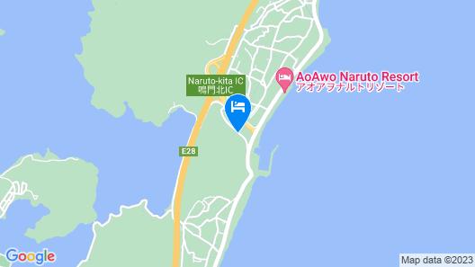 Tokushima Naruto Hotel Lotus Resort Map