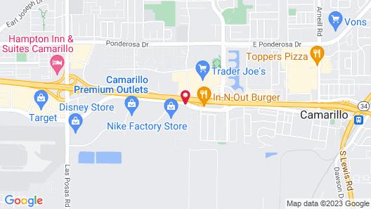 Good Nite Inn Camarillo Map