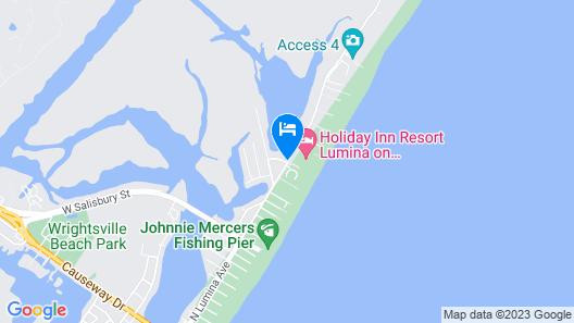 Holiday Inn Resort Wrightsville Beach Map