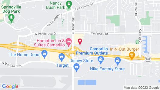 Days Inn by Wyndham Camarillo - Ventura Map