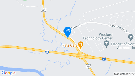 Holiday Inn Express Hotel & Suites Camden-I20 (Hwy 521), an IHG Hotel Map