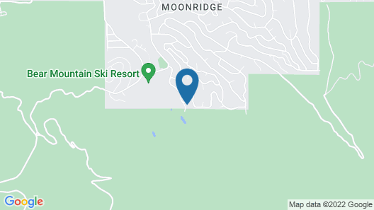 Black Diamond Chalet-1842 by Big Bear Vacations Map