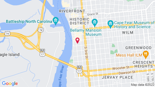 Front Street Inn Map