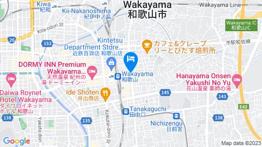 Wakayama Urban Hotel Map