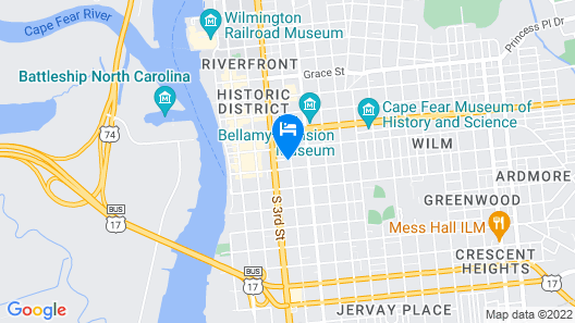Dreamers Welcome Map