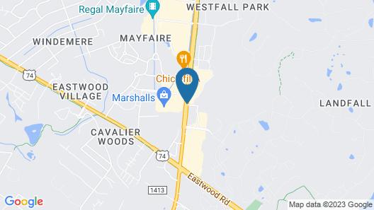 Residence Inn by Marriott Wilmington Landfall Map