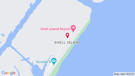 Shell Island Resort - All Oceanfront Suites Map