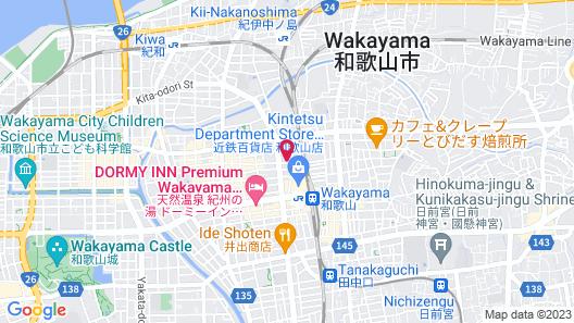 Hotel City Inn Wakayama Map