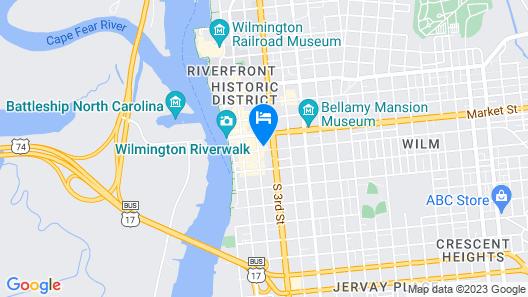 City Club of Wilmington Map