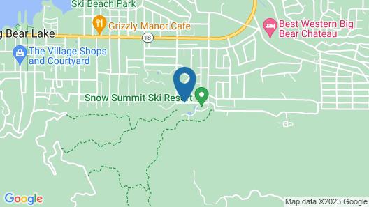 Snow Summit Townhouse Rentals & Sales Map