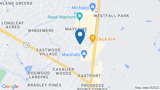 Hilton Garden Inn Wilmington Mayfaire Town Center Map