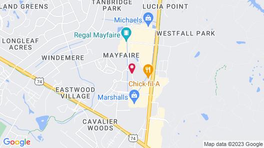 Homewood Suites Wilmington/Mayfaire Map