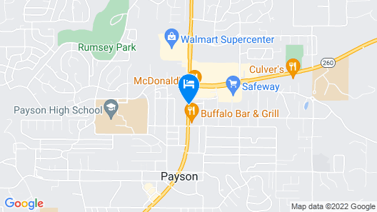 Comfort Inn Payson Map
