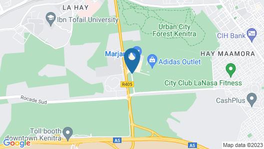 Relax Hôtel Kénitra Map