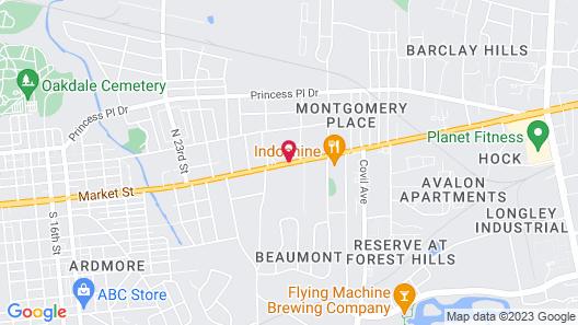AmeriVu Inn Map