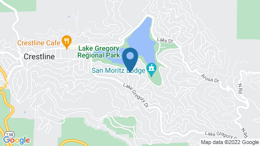 Lake View Chalet Map