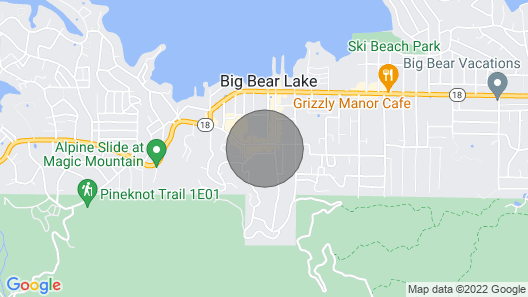 Amazing Luxury Villa in the Heart of Big Bear! Map