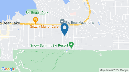 Centrally Located And Within Walking Distance To Snow Summit! Map