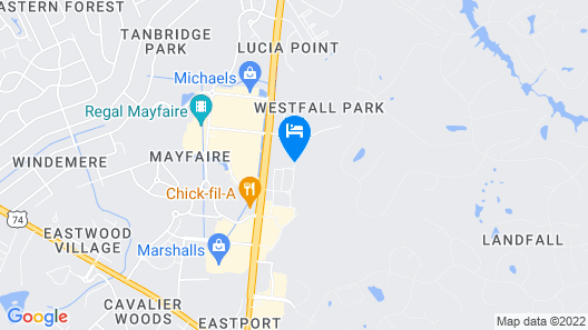Springhill Suites by Marriott Wilmington Mayfaire Map