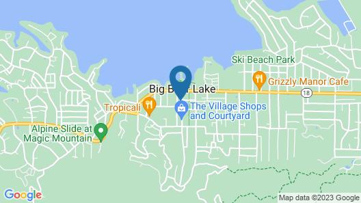 SoCal Vacations - Village Inn Map