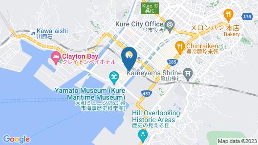 Comfort Hotel Kure Map
