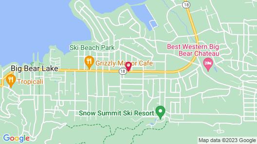 Getaways at Snow Lake Lodge Map