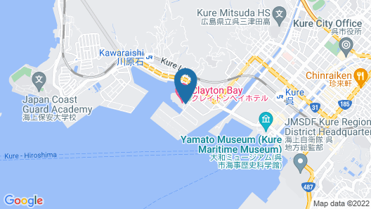 Clayton Bay Hotel Map
