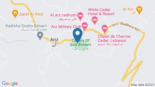 Mountain View Cedars Map