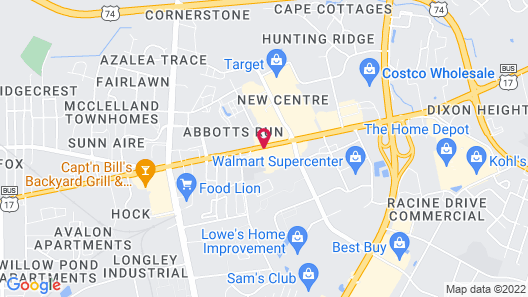 Holiday Inn Wilmington-Market St, an IHG Hotel Map