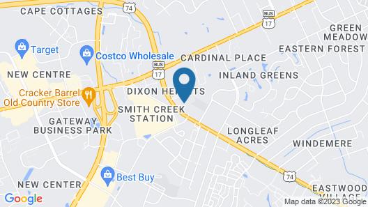 Fairfield Inn & Suites by Marriott Wilmington Map