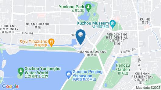 Citadines Yunlong Lake Xuzhou Map