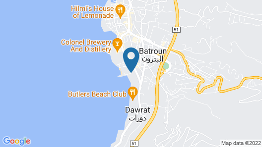 Sawary Resort and Hotel Map