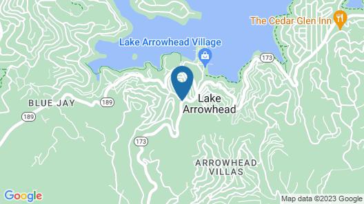 Arrowhead Mountain Inn Map