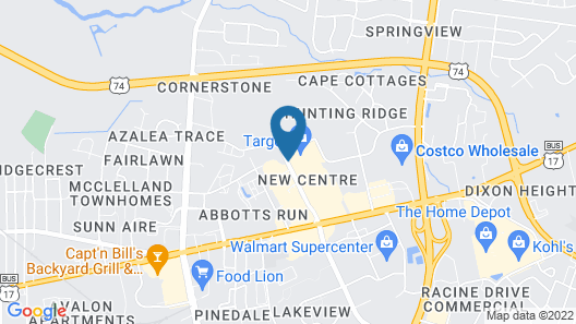 Country Inn & Suites by Radisson, Wilmington, NC Map