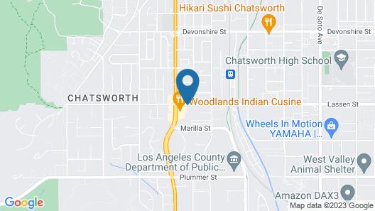 Sonesta ES Suites Chatsworth Map