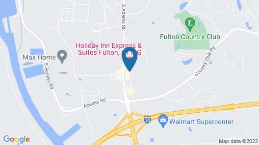 Holiday Inn Express Hotel & Suites Fulton, an IHG Hotel Map