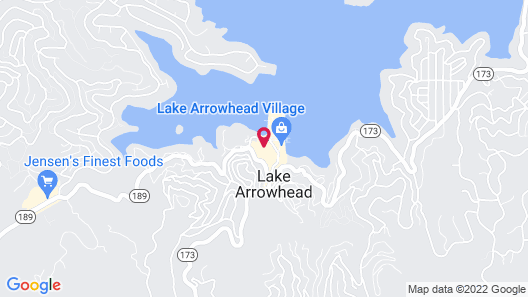 Lake Arrowhead Chalets, a VRI resort Map