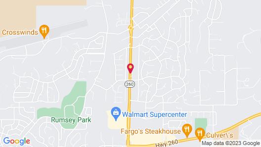 Quality Inn Payson Map