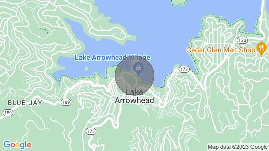 Lake Arrowhead Chalets 2BD Spacious Chalet Map