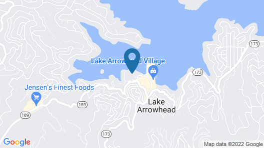 Lake Arrowhead Resort and Spa Map