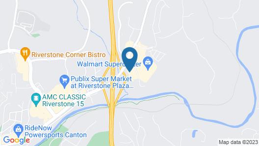 Quality Inn & Suites Canton, GA Map