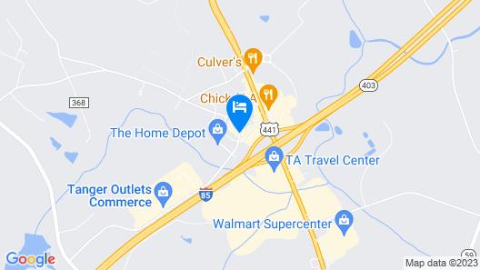 Fairfield Inn & Suites by Marriott Commerce Map