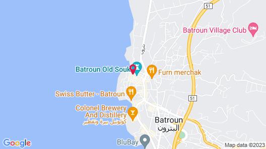 L'Auberge de la Mer Map