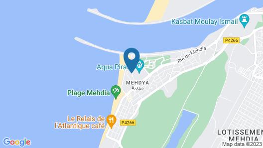 Kenz Mehdia Hotel Resort Aqua Park Map