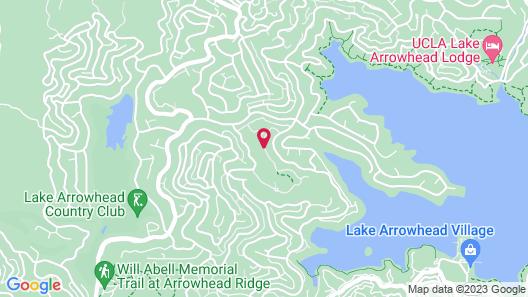 North Bay at Lake Arrowhead Map