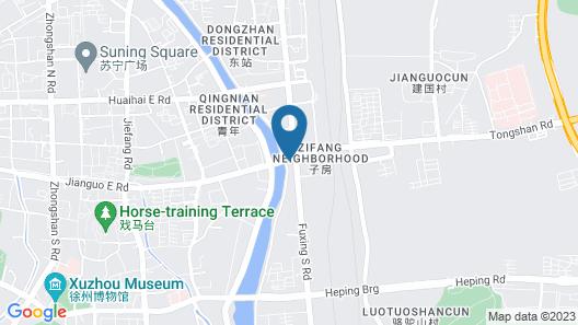 Atour Hotel Railway Station Xuzhou Map