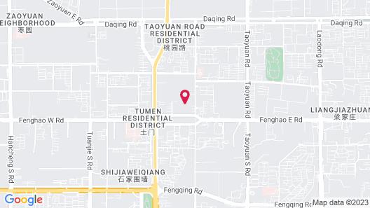 Sheraton Xian Hotel Map
