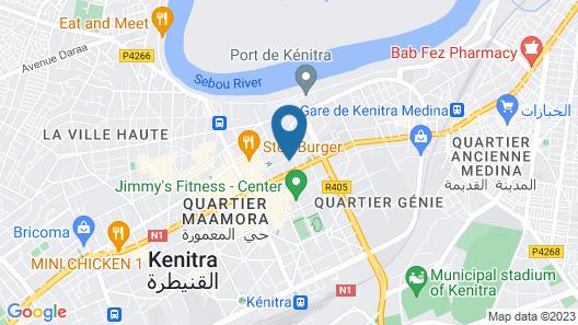 Hotel Mamora Map