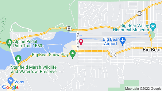 Country Club Chalet Map